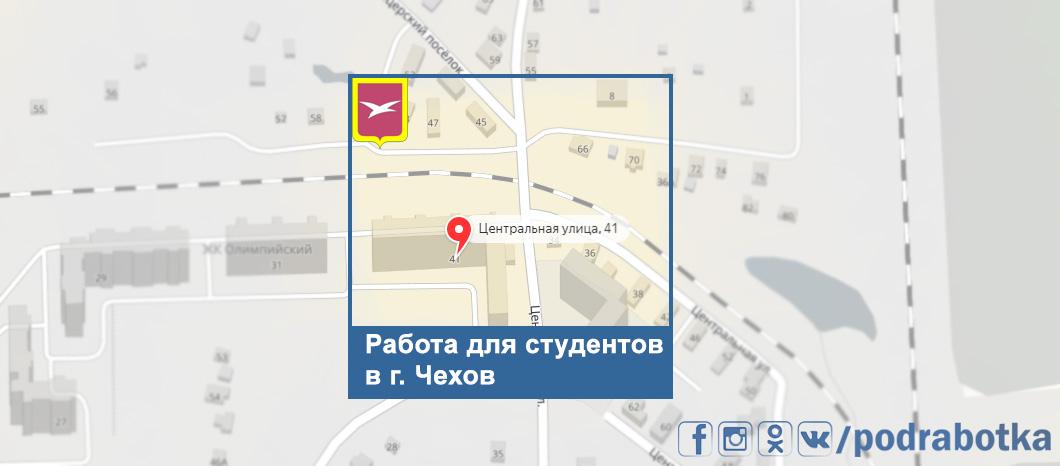 Карта Чехов